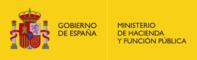 Logotipo Ministerio de Hacienda y Función Pública